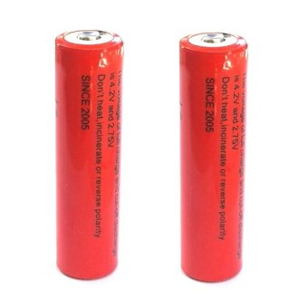 2pcs 18650 4800mah Rechargeable Li-ion Battery #0252