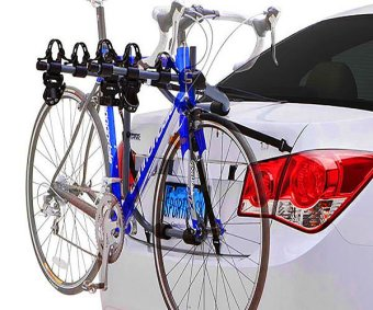 3 Three Bike Carrier Rear mount Rack Hybrid brand - 2