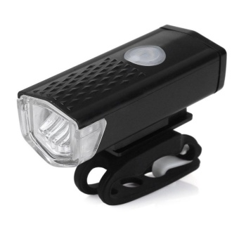300LM USB Rechargeable Bike Front Head Light Cycling Bicycle LED Lamp 3 Modes - intl
