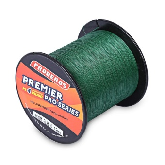30LB 300M PE Fishing Line Strong 4 Strands Braided Wire - intl