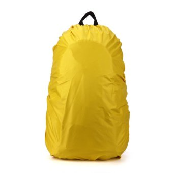 35L Waterproof Backpack Cover Dust Rain Bag Cover Nylon For TravelCamping Hiking Cycling Outdoor Yellow