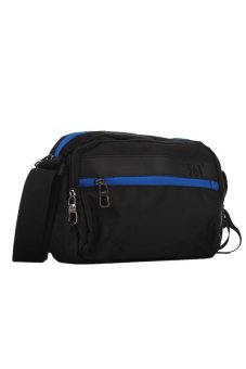 361 Degrees Twain Shoulder Bag (Black/Blue) - picture 2
