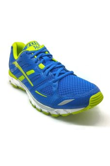 361 Degrees Zomi Running Shoes (Blue/Green)