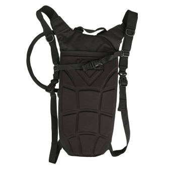 3L Hydration Outdoor Tactical Water Bag Pouch Backpack with Bladder (Black)