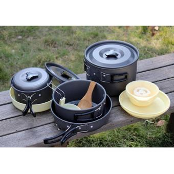 3pcs Travel Cookware Cooking Set DS-300