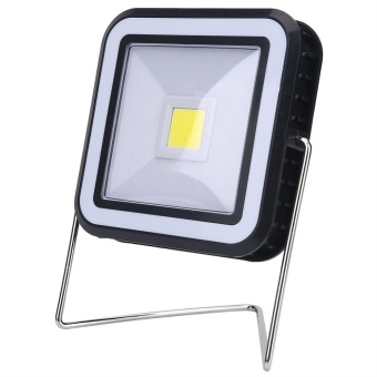 3W Solar Panel Camping Tent Lantern Emergency Light Table DesktopLamp (Square) - intl