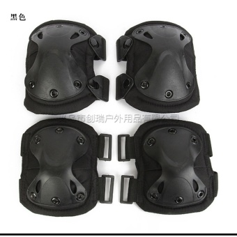 4pcs Tactical paintball protection knee pads & elbow pads setSports Safety Protective Pads Protector Gear Hunting Shooting Pads- intl Price Philippines