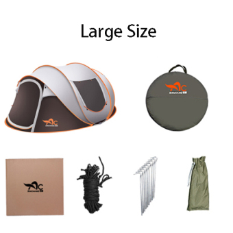5-8 People Automatic Speed Tents Outdoor Beach Home Camping Tents - 2