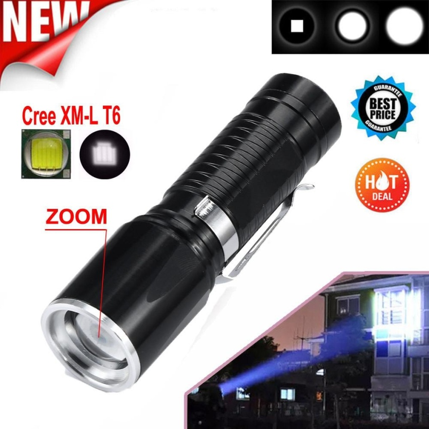 5 Modes Super Bright X800 Tactical Flashlight LED Zoom MilitaryTorch - intl Price Philippines