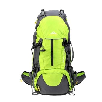 50L Waterproof Outdoor Sport Hiking Trekking Camping TravelBackpack Pack Mountaineering Climbing Knapsack with Rain Cover -INTL
