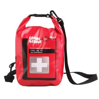 5L Waterproof Small First Aid Kit for Hiking / Backpacking /Camping / Travel / Car & Cycling - intl