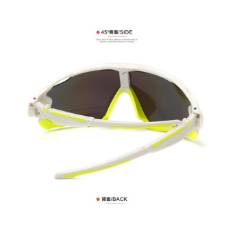 6 Colors Cycling Riding Bicycle Bike Sports Sun Glasses Sunglasses Eyewear Dust Proof Anti-Glare Protection + Free Glasses Box - intl - 2