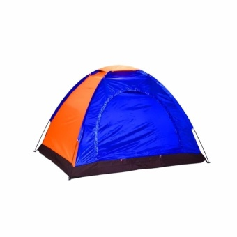6 Person Camping Tent (Multicolor)