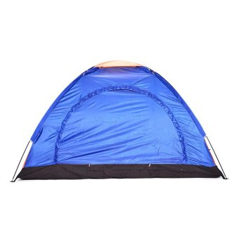 6-Person Dome Camping Tent (Multicolor) with FREE RechargeablePolice Flashlight with Stun Gun - 2