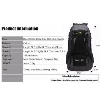 60L Waterproof Oxford Hiking Camping Backpacks OutdoorWear-resisting Bag - 3