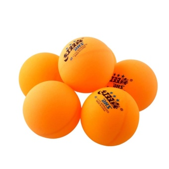 6Pcs 3 stars DHS 40MM Olympic Table Tennis Orange Ping Pong Balls Trainning - intl Price Philippines