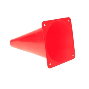 6pcs Multifunction Safety Agility Cone for Football Soccer SportsField Practice Drill Marking (Red) - 2