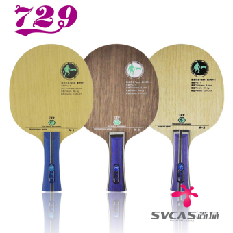 729 A2/A3/A1 professional pure wood racket Table Tennis floor