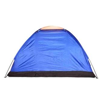 8-Person Dome Camping Tent (Multicolor) - 3