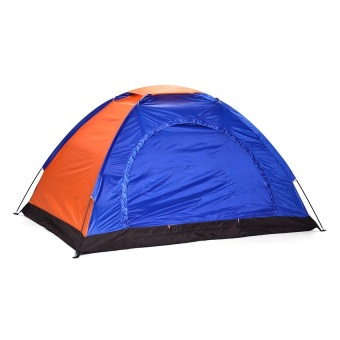 8-Person Dome Camping Tent (Multicolor)