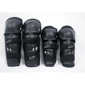 A-STAR 4 pcs motorcycle knee pad and elbow pad set STANDARD size
