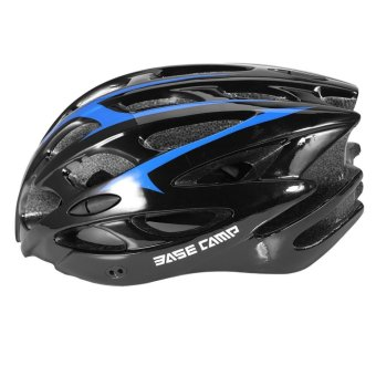 Adjustable Adult Road Bicycle Helmet Cycling Safety Protection(Black and Blue) - intl - 2