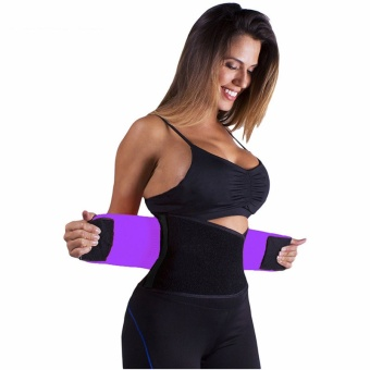 Adjustable Belly Trainer Waist Support Fitness Belt Sport waistbandPower Tummy Slim Belts (Size XL) - intl - 5
