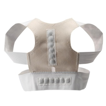 Adjustable Posture Corrector Clavicle & Shoulder Posture Brace Back Support Brace (L) - intl