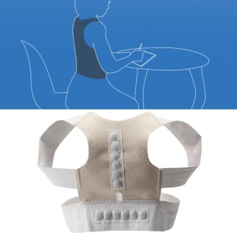 Adjustable Posture Corrector Clavicle & Shoulder Posture Brace/Back Support (M) - intl