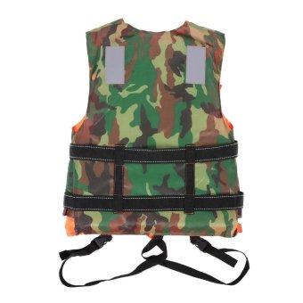Adult Lifesaving Reversible Life Jacket Buoyancy Aid FlotationDevice Work Vest Clothing Swimming Marine Life Jackets SafetySurvival Suit Outdoor Water Sport Swimming Drifting Fishing - intl - 3