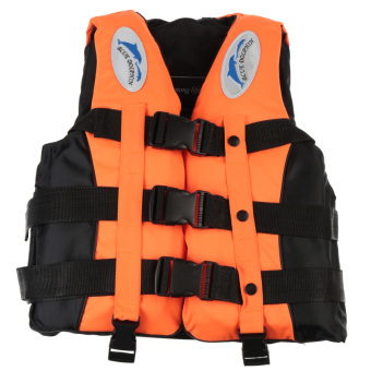 Adult Swimming Life Jacket Vest Whistle(S Size)