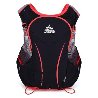 AONIJIE 5L Outdoor Sport Running Vest Backpack Women/Men Hydration Vest Pack for 1.5L Water Bag Cycling Hiking Bag - intl