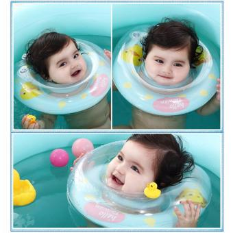 Baby Infant Swimming Aid Protector Neck Float Ring Safety Life Saver - 5