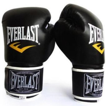 Bang Boxing Muay Thai Training Glove (Black) - intl
