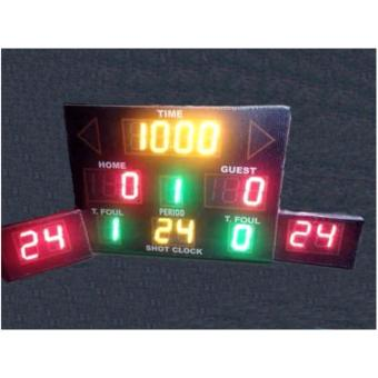 Basketball Colored Font Digital Scoreboard with 24 sec. shotclock Price Philippines