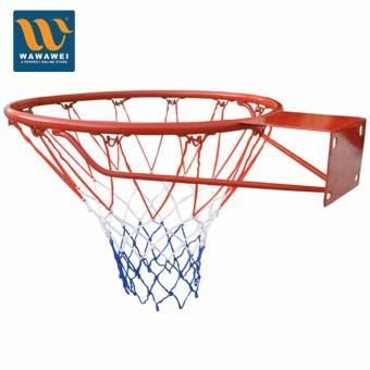 Basketball Ring Outdoor with Net 45cm (Orange)
