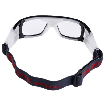 Basketball Soccer Football Sports Protective Anti-fog ExplosionProof Elastic Goggles Eye Safety Glasses for Outdoor Sports - intl - 4