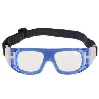 Basketball Sports Protective Goggles Glasses Blue - intl