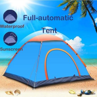 Besta 2-3 People Fast and Easy To Open Set Up Outdoor Camping TentSingle Layer Waterproof Portable UV-resistant Rain - intl