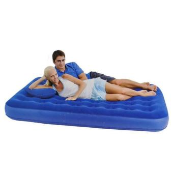 BESTWAY 2.03 Meter Portable Inflatable Double Queen Air Bed Mattresses with 2 Pillow - 2