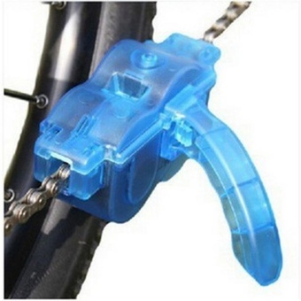 Bicycle Accessories Universal Bike Chain Cleaner Scrubber Tool withRotating Brushes - intl