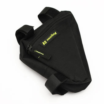Bicycle Front Frame Bag (Black) - INTL - picture 2