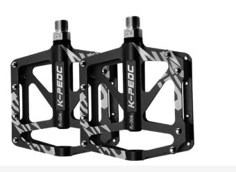 Bicycle Pedal Aluminum/Alloy Mountain Bike Pedals Road Cycling Sealed 3 Bearing Pedals BMX Ultra Light Bike Pedal Bicycle Parts - intl