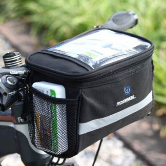 Bike Bicycle Cycling Outdoor Front Basket Pannier Frame TubeHandlebar Bag