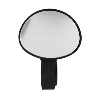 Bike Bicycle Cycling Rear View Mirror Handlebar Flexible SafetyRearview(Black)