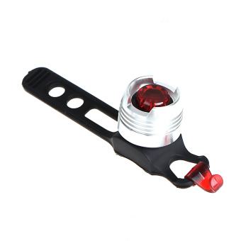 Bike Bicycle LED Rear Tail Light Safety Flashing 3 Mode Water-resistant Bright (Intl) - picture 2