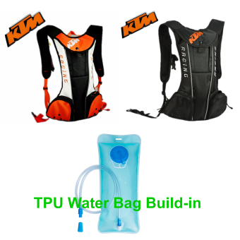 Black motorcycle KTM hydration water backpack motocross motorizedbackpack outdoor camping hiking warm water bag Price Philippines