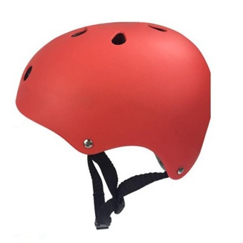 BMX Bike Skate Multi-Sport Helmet Cycling Bicycle Crash Helmets, 2Sizes for Adult Kids Specification:Red S(QIMIAO) - intl Price Philippines