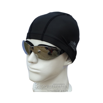 Bo road fashion for men and women with long hair waterproof professional swimming cap