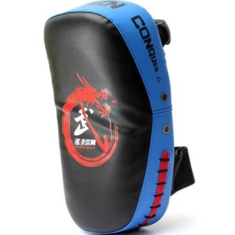 Boxing Muay Thai Martial Combat Karate Kicking Punching TrainingPad Target Blue